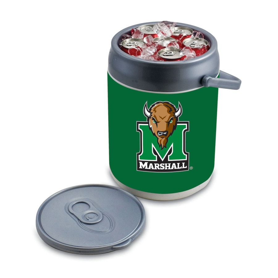 Picnic Time Marshall Thundering Herd 9-qt Plastic Chest Cooler