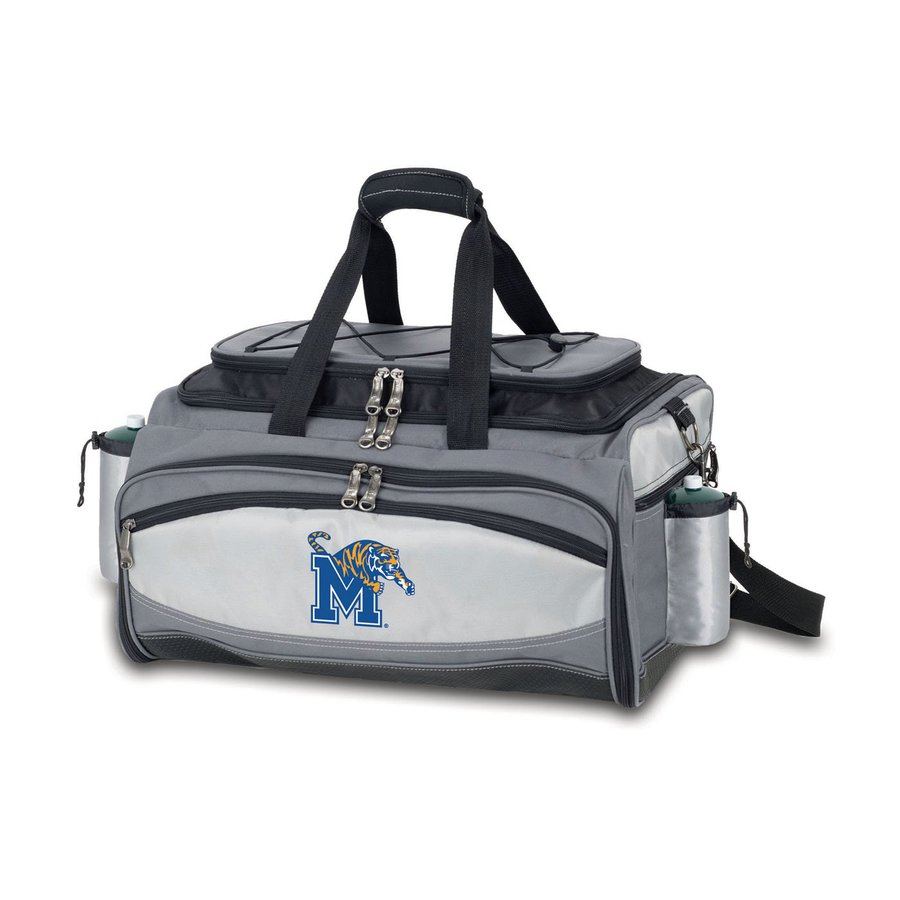 Picnic Time Vulcan Memphis Tigers 164 Sq.-in Portable Gas Grill and Cooler with Embroidered Case
