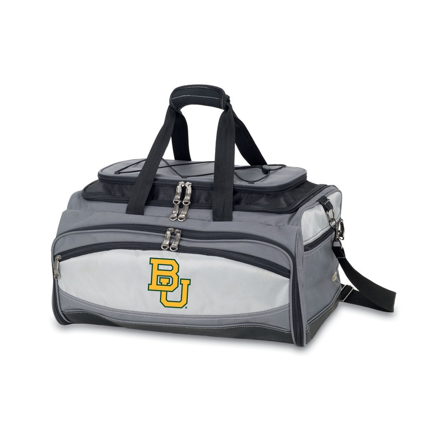 Picnic Time Vulcan Baylor Bears 164 Sq.-in Portable Gas Grill and Cooler with Embroidered Case