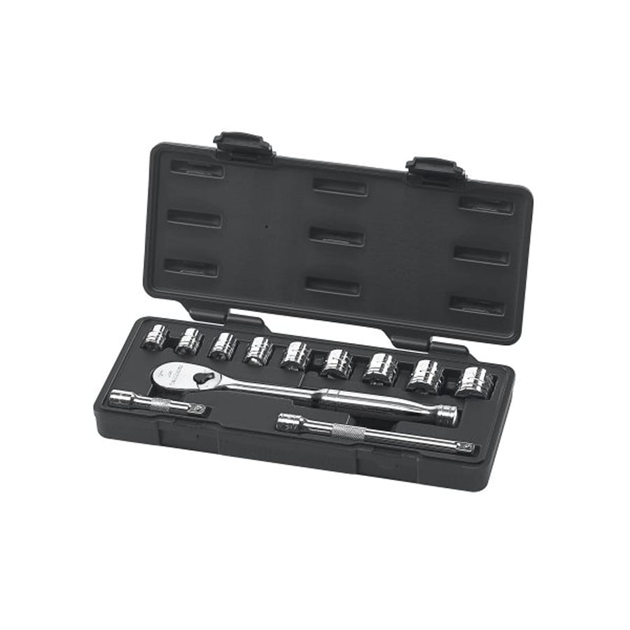 KD Tools 12-Piece Standard (SAE) Mechanic's Tool Set with Hard Case