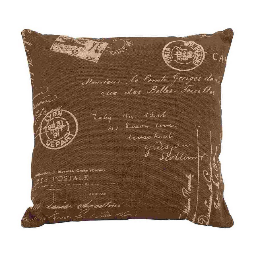 UMA Enterprises 16-in W x 16-in L Square Accent Pillow