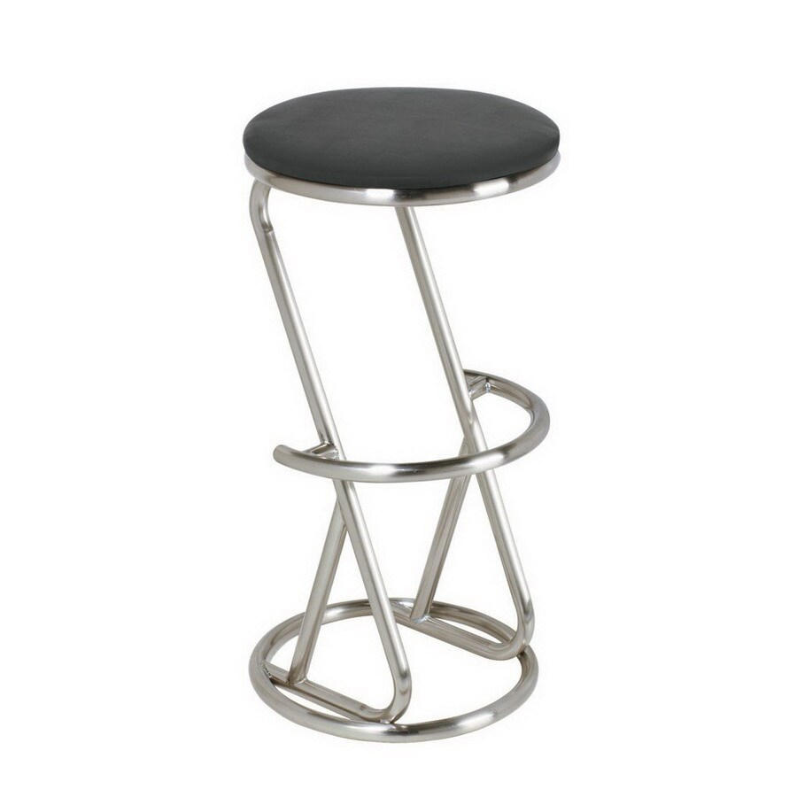 RAM Gameroom Products Stainless-Steel 30-in Bar Stool