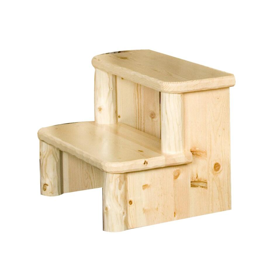 Viking Industries 2-Step Wood Step Stool