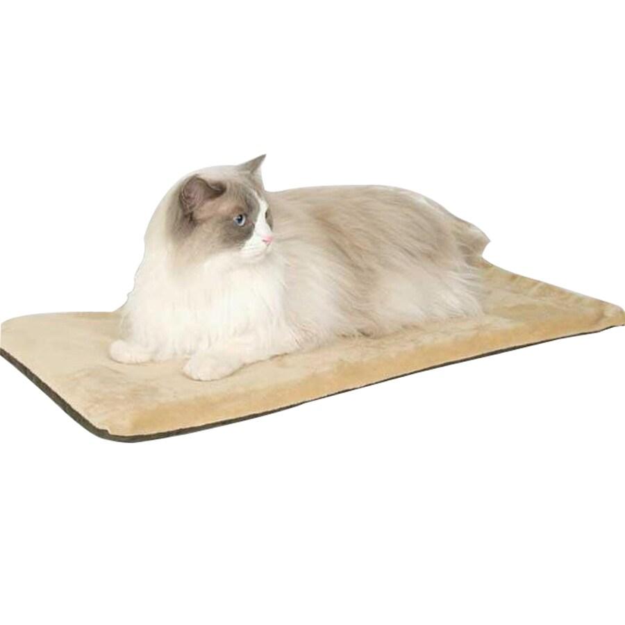 K&H Manufacturing Mocha Polyester Rectangular Cat Bed