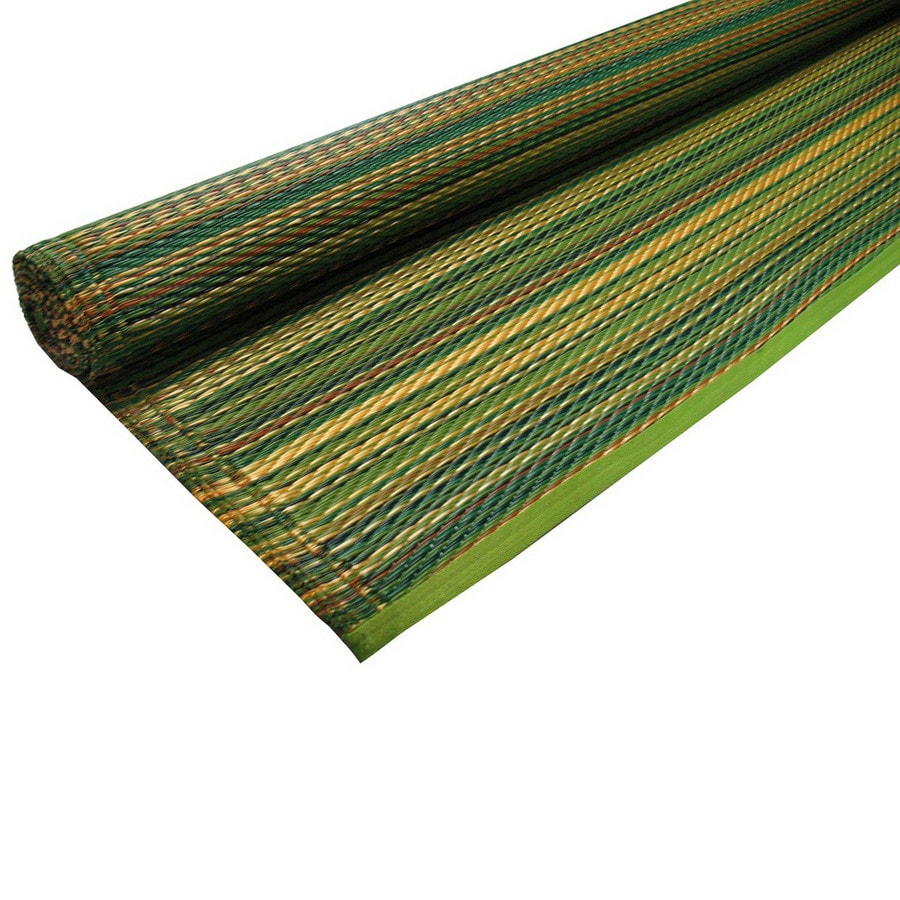 KOKO Company 48-in W x 72-in L Green Mix Anti-Fatigue Mat