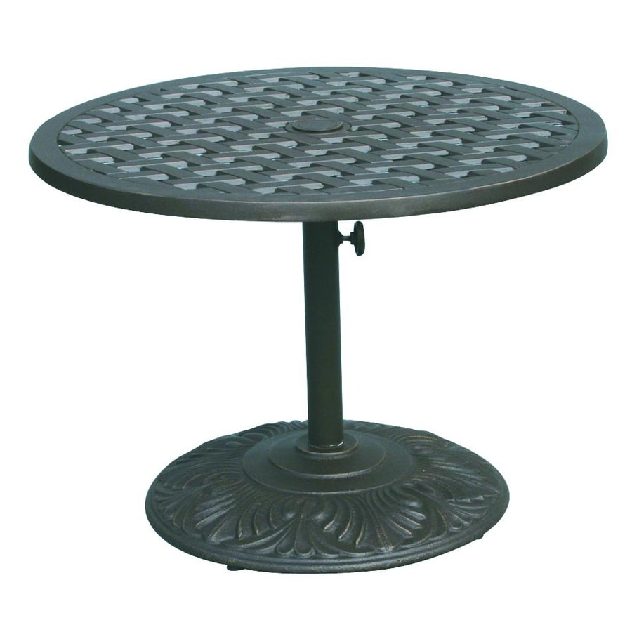 Darlee Series 30 30-in W x 30-in L Round Iron Coffee Table