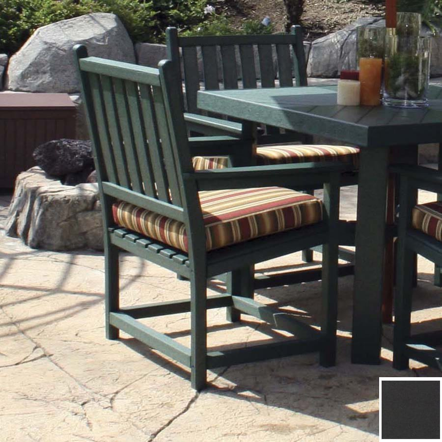 Eagle One Black Patio Chair Cushion