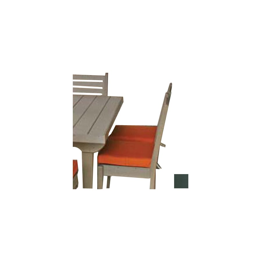 Eagle One 17.5-in L x 17-in W Forest Green Patio Chair Cushion