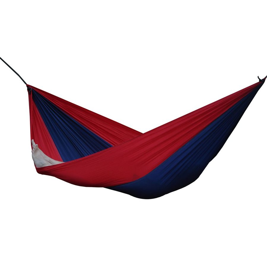 Vivere Parachute Navy/Red Fabric Hammock