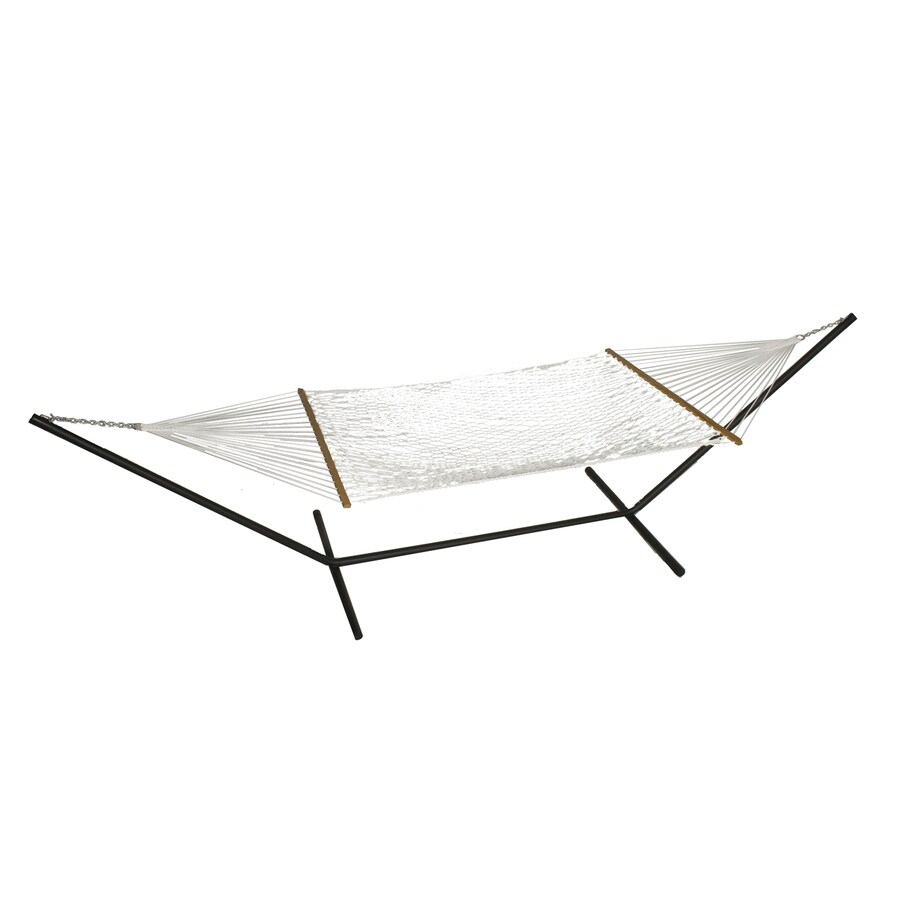 Phat Tommy Outdoor Oasis Natural White Rope Hammock