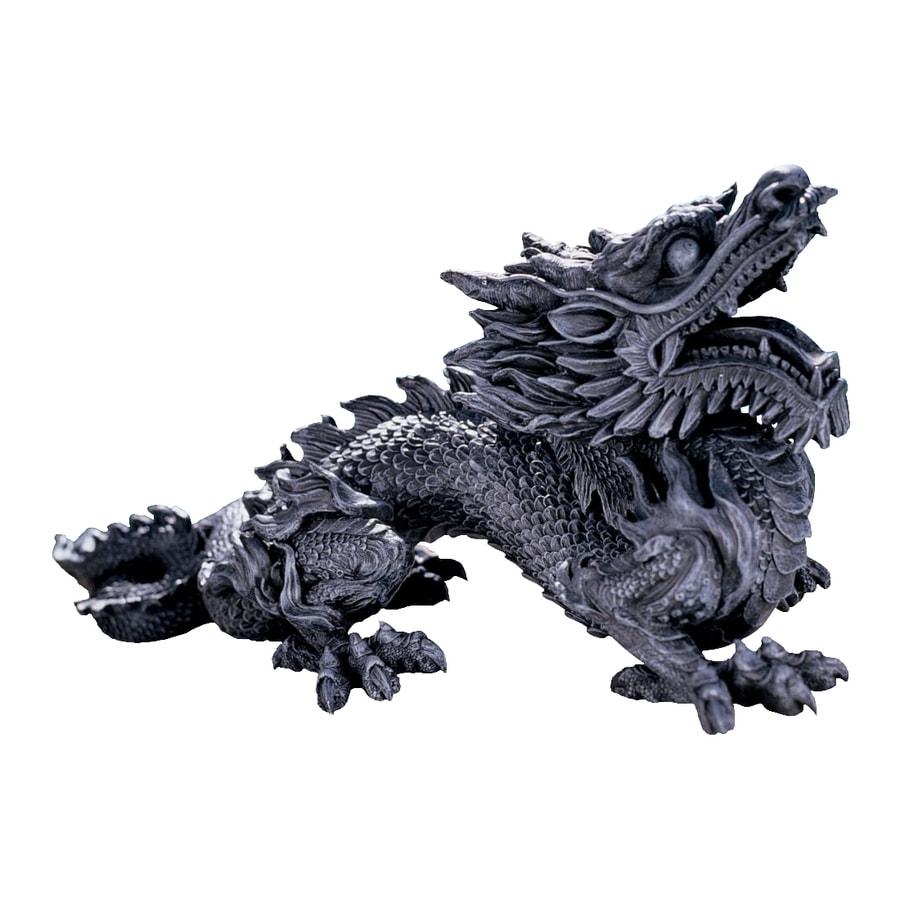 Design Toscano Benevolent Asian Dragon 10-in Garden Statue