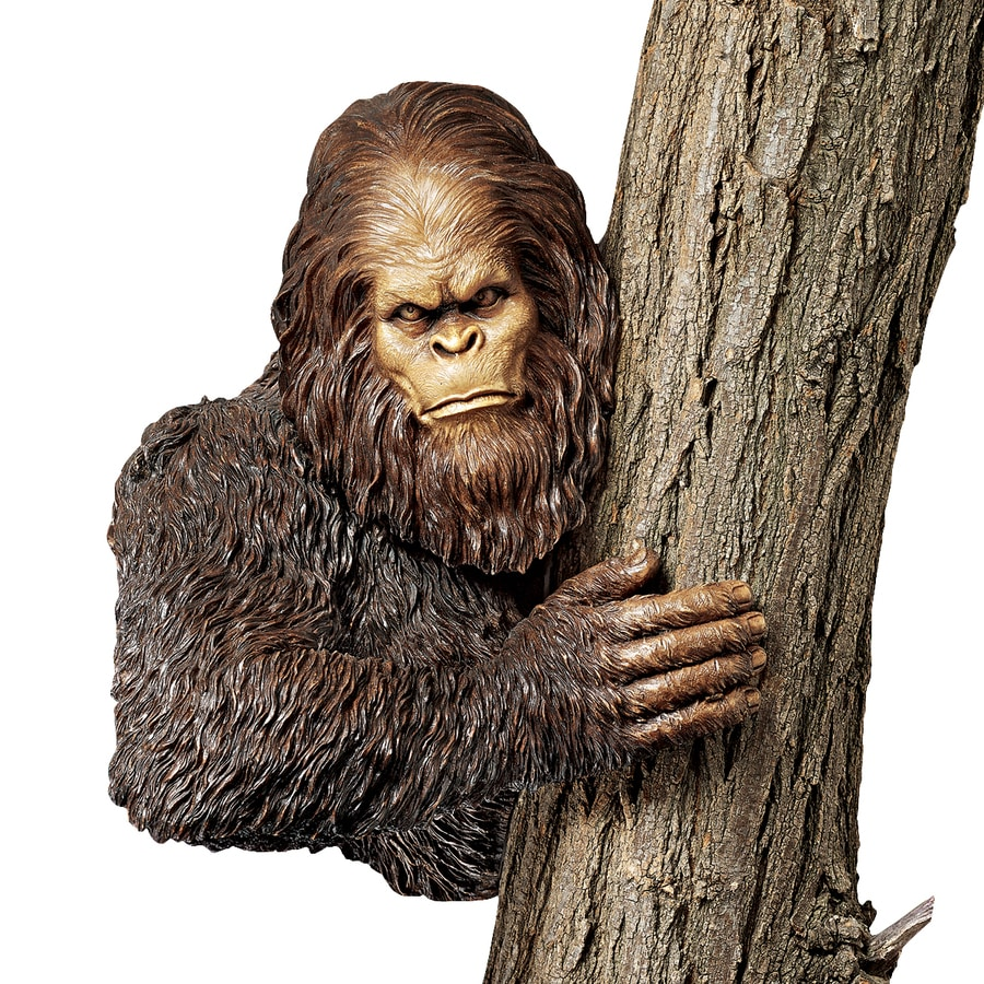 Design Toscano Bigfoot The Bashful Yeti 15-in Garden Statue