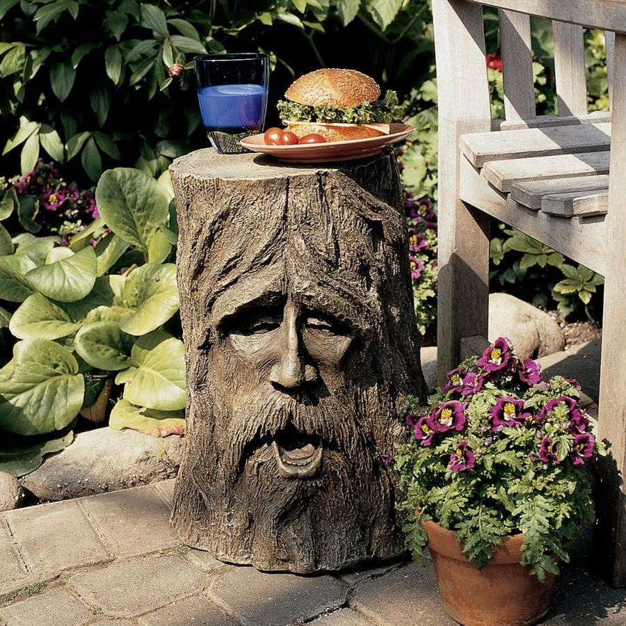 Design Toscano Odin Greenman 17.5-in Tree Garden Statue