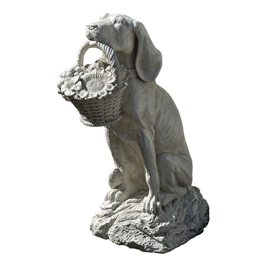 Design Toscano Man's Best Friend 19-in Animal Garden Statue