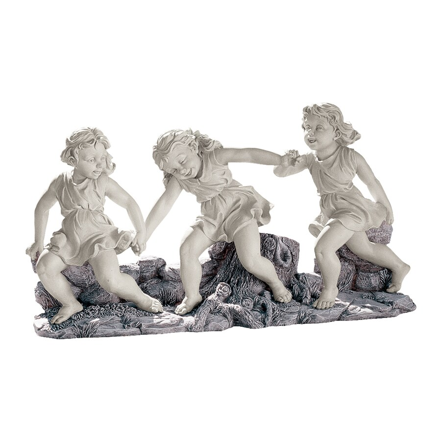 Design Toscano Ring Around The Rosie 12-in Children Garden Statue