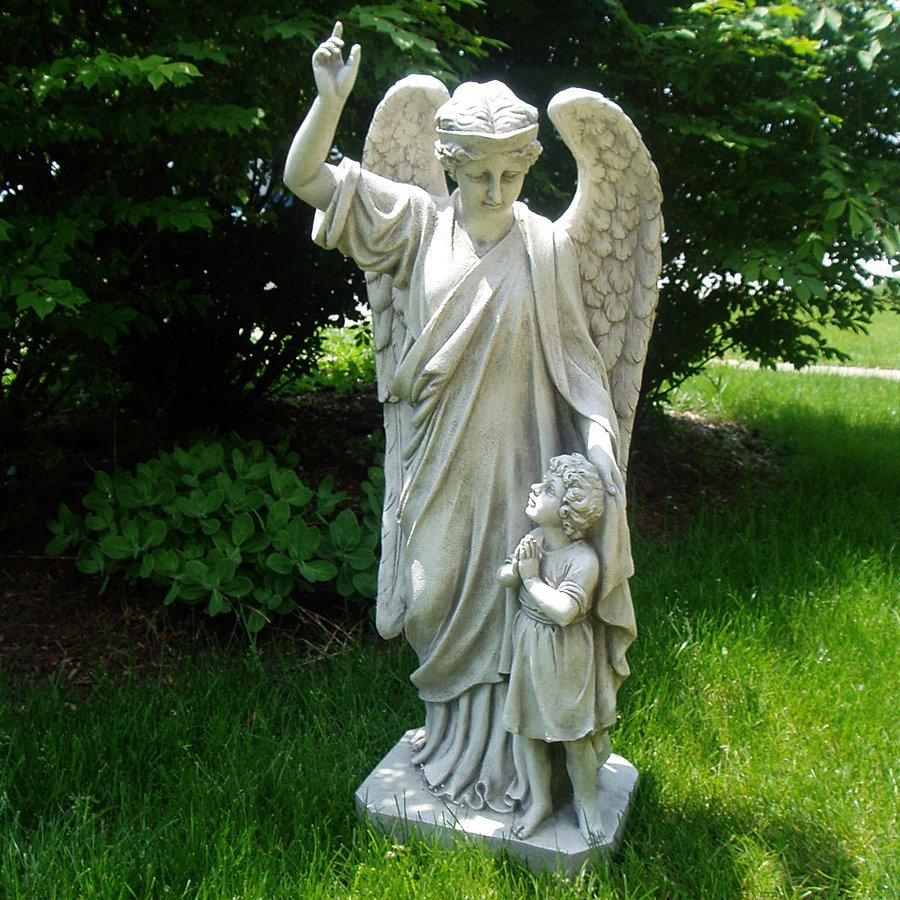 Shop Design Toscano Guardian Angel Childs Prayer 34 in