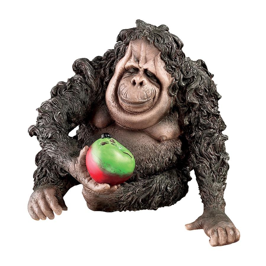 Design Toscano Oswald The Baby Orangutan 8-in Animal Garden Statue