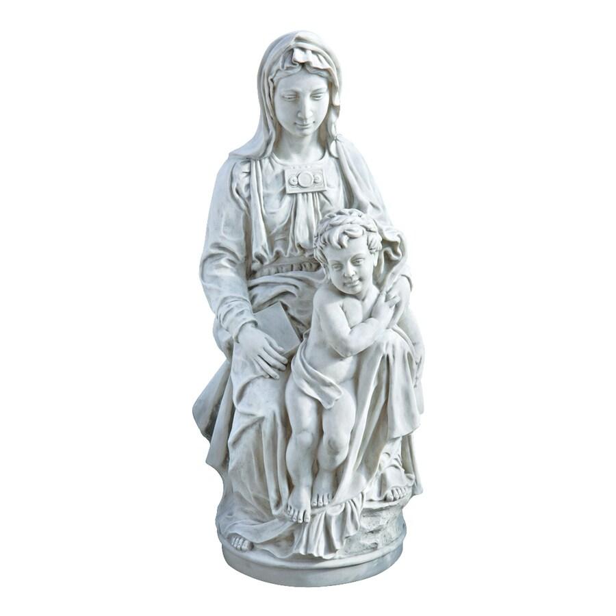 Design Toscano Madonna Of Bruges 28-in Religion Garden Statue