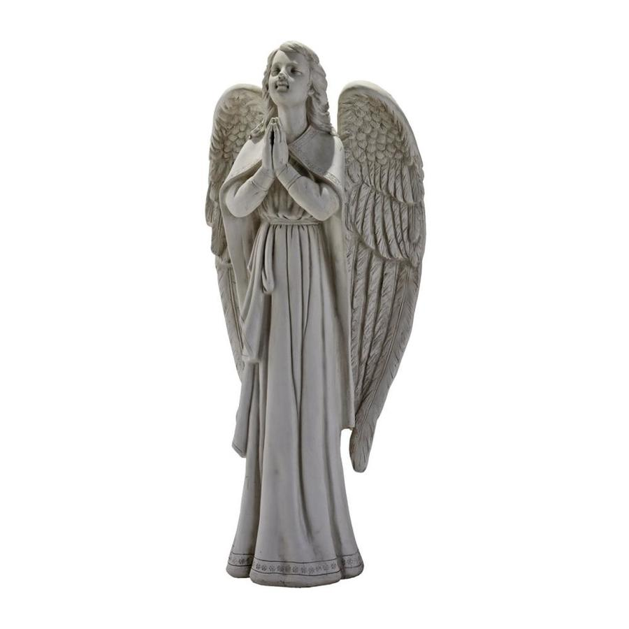 Shop design toscano divine guidance praying angel 33 in for Designer garden decor