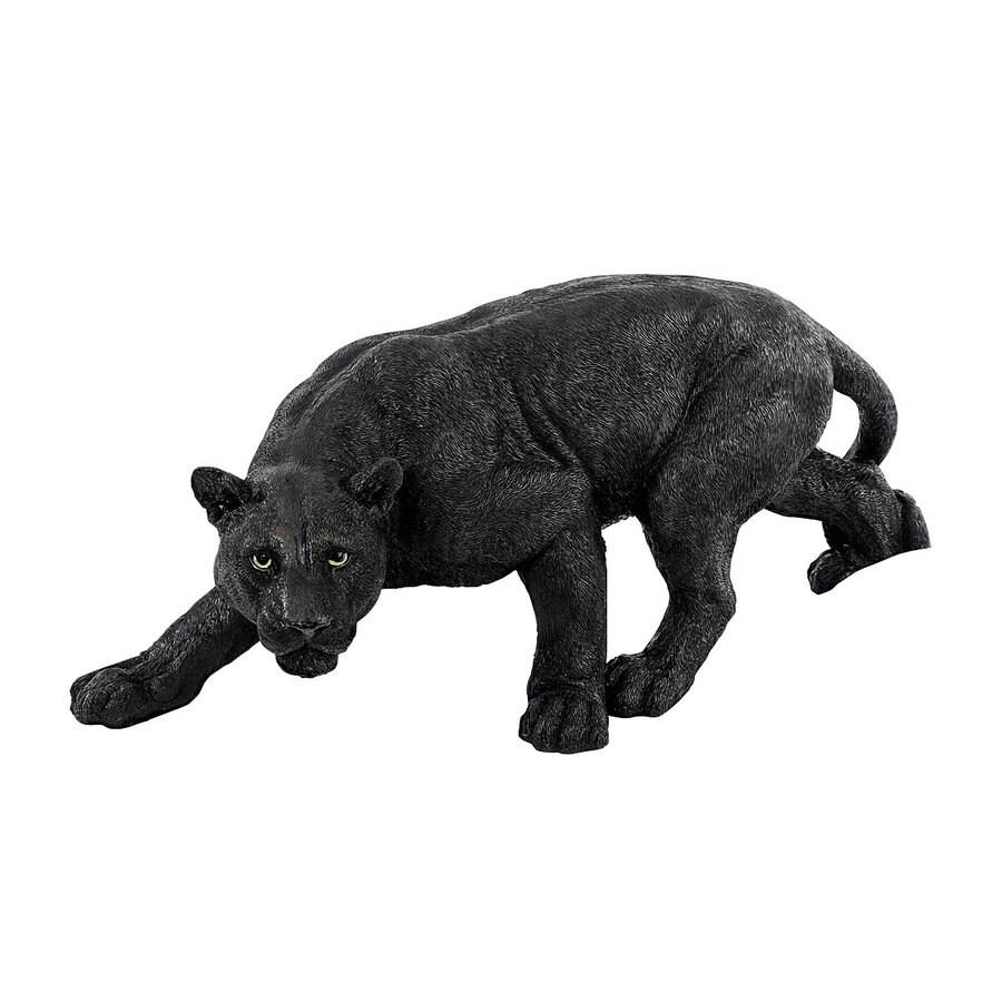 Design Toscano Shadowed Predator 10-in Animal Garden Statue