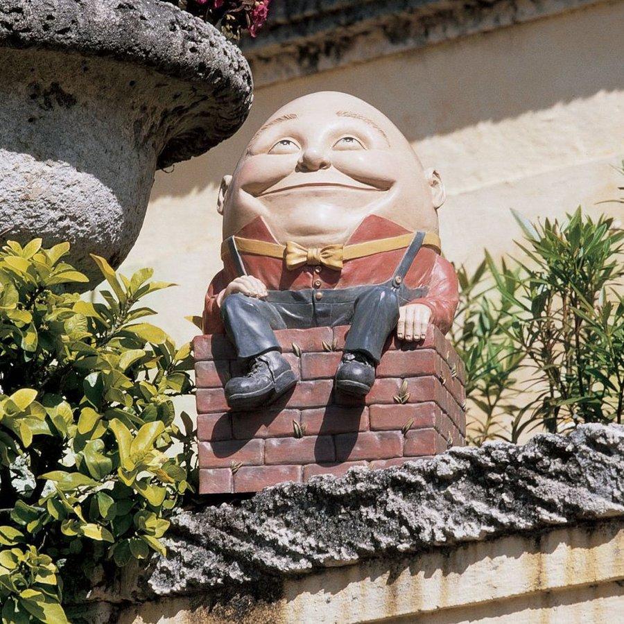 Design Toscano Humpty Dumpty 19-in Garden Statue