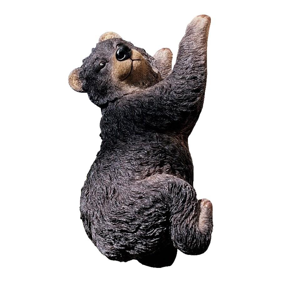 Design Toscano Yonva The Climbing Bear 13-in Animal Garden Statue