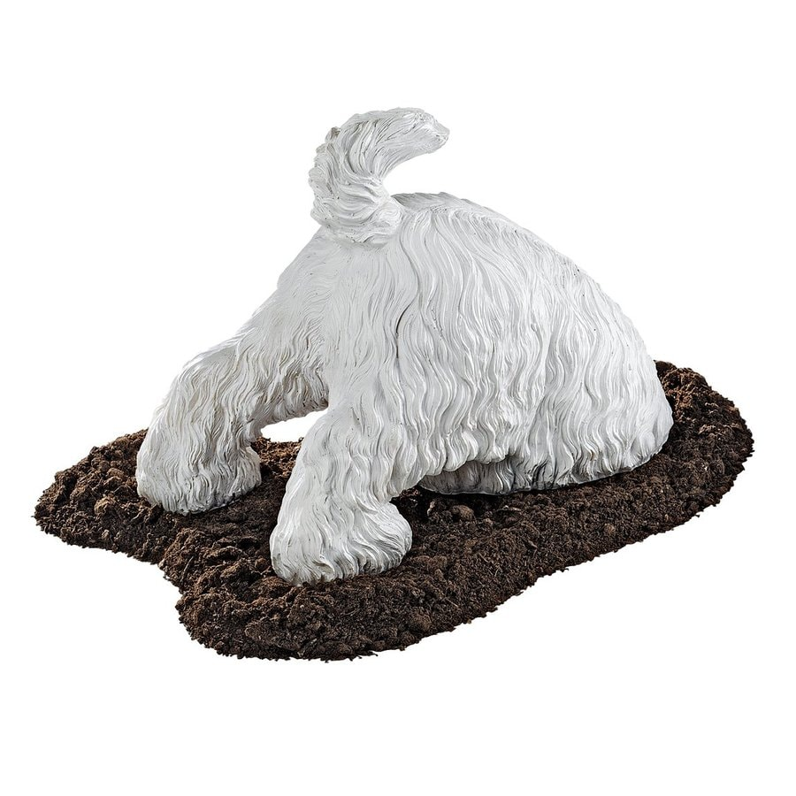 Shop Design Toscano Highland Terrior Digging Dog 10 In