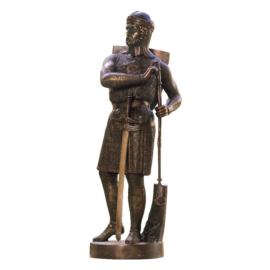 Design Toscano 13Th Century Medieval Warrior 43-in Garden Statue