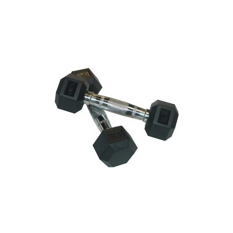 Valor Fitness 16-lb Fixed-Weight Dumbbell Set