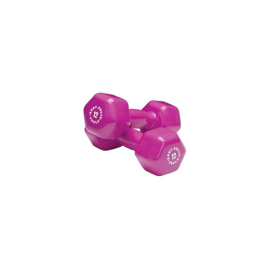 Body Solid Tools 12-lb Fixed-Weight Dumbbell