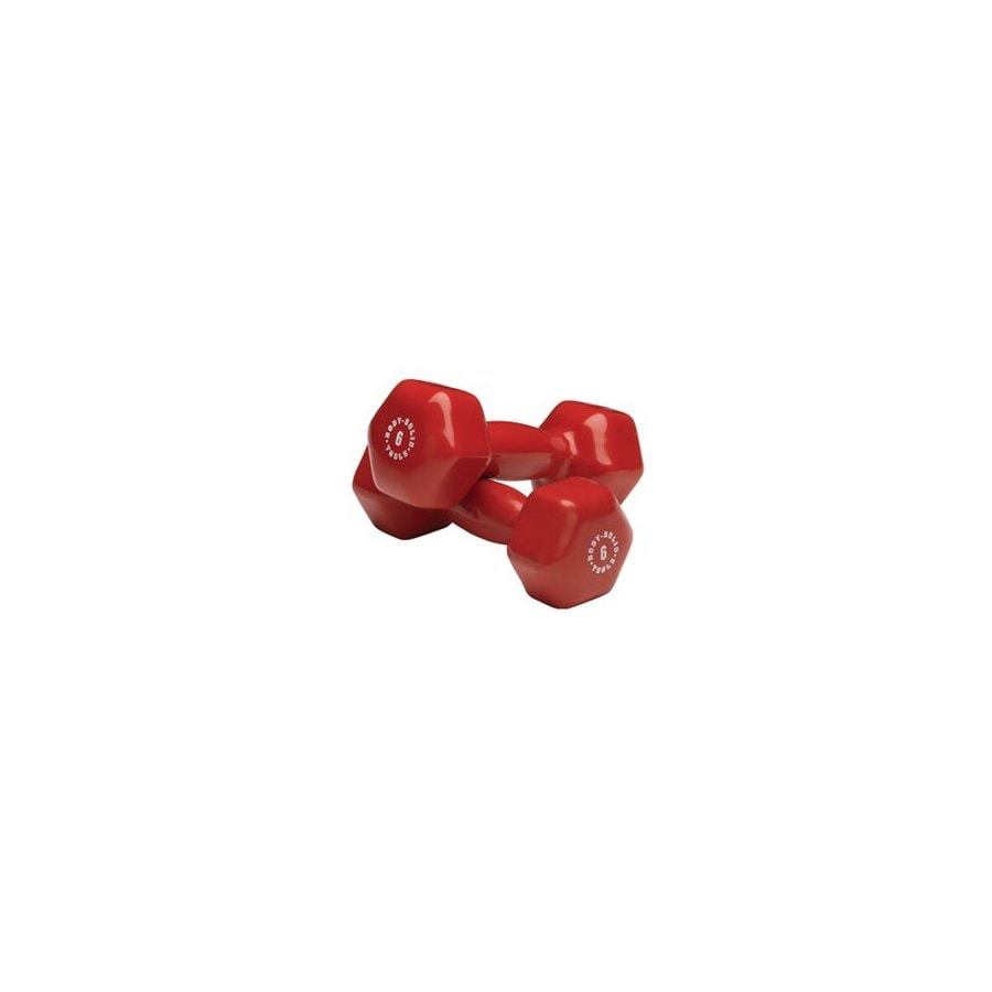 Body Solid Tools 6-lb Fixed-Weight Dumbbell