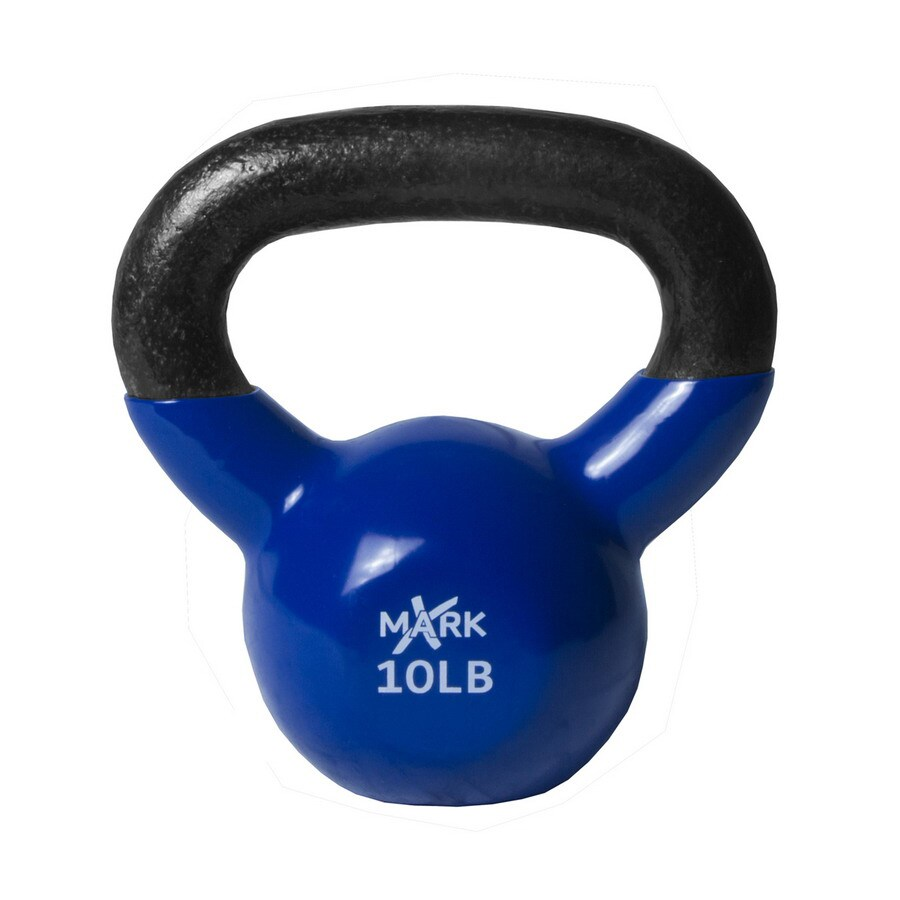 Xmark Fitness 10 lbs Fixed-Weight Kettlebell