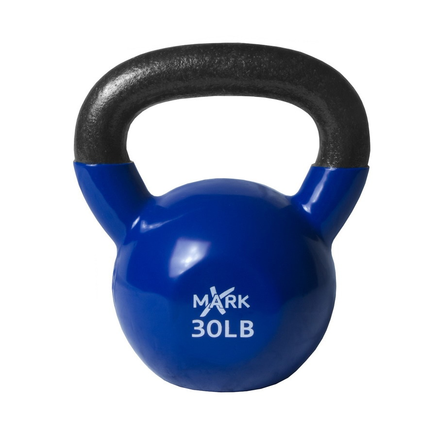 Xmark Fitness 30 lbs Fixed-Weight Kettlebell