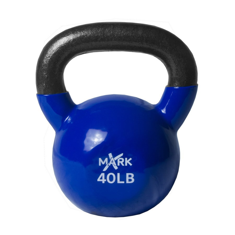 Xmark Fitness 40 lbs Fixed-Weight Kettlebell