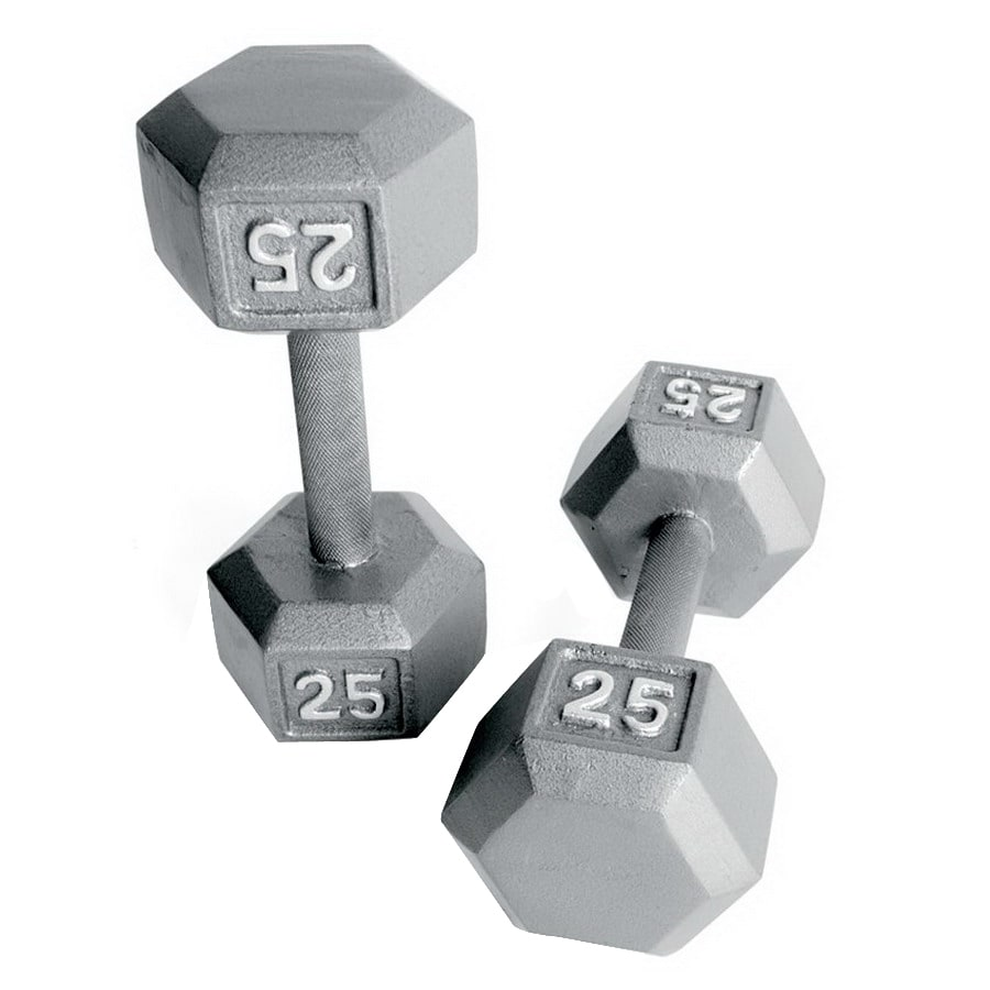 CAP 25-lb Gray Fixed-Weight