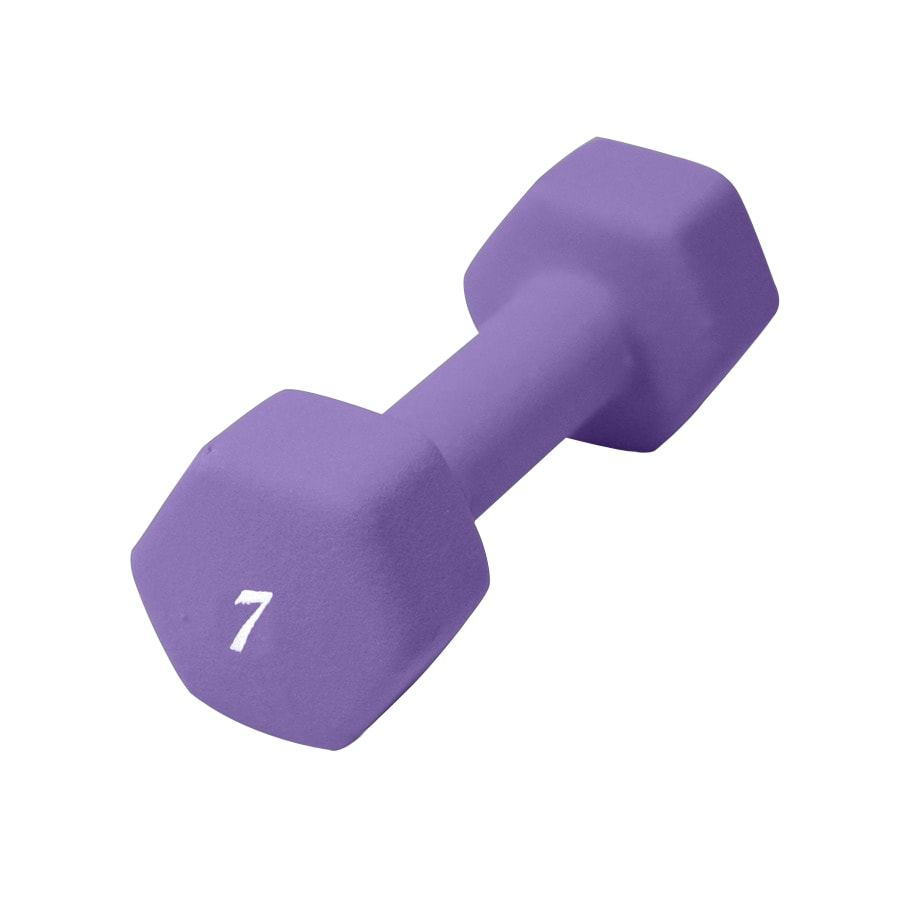 CAP 7-lb Fixed-Weight Dumbbell