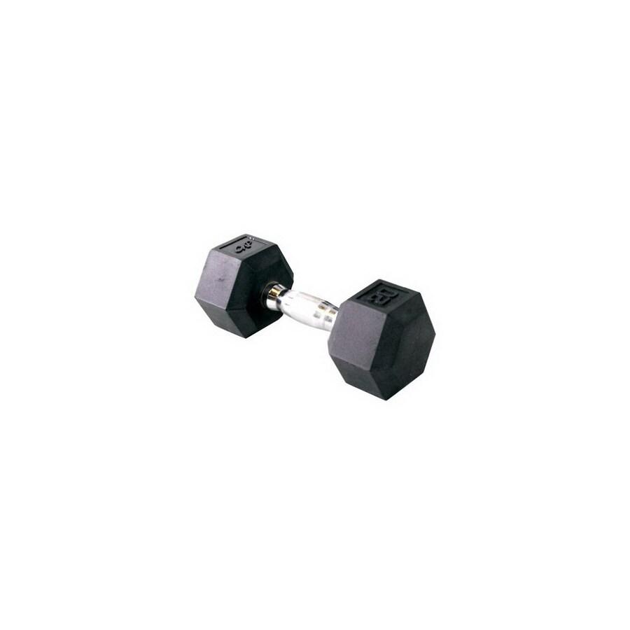 CAP 80-lb Black Fixed-Weight