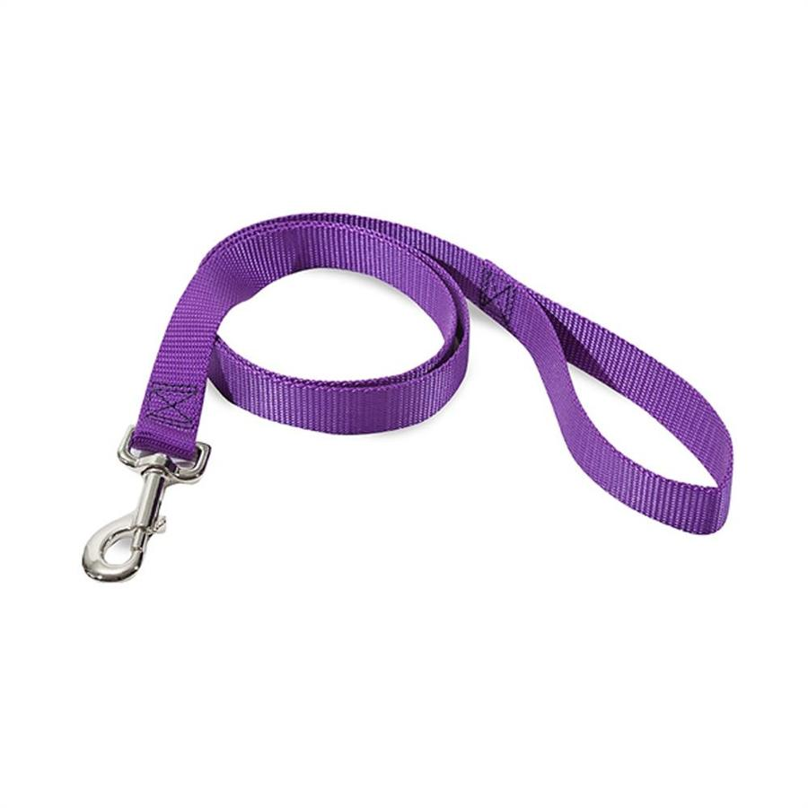 Majestic Pets Purple Nylon Dog Leash