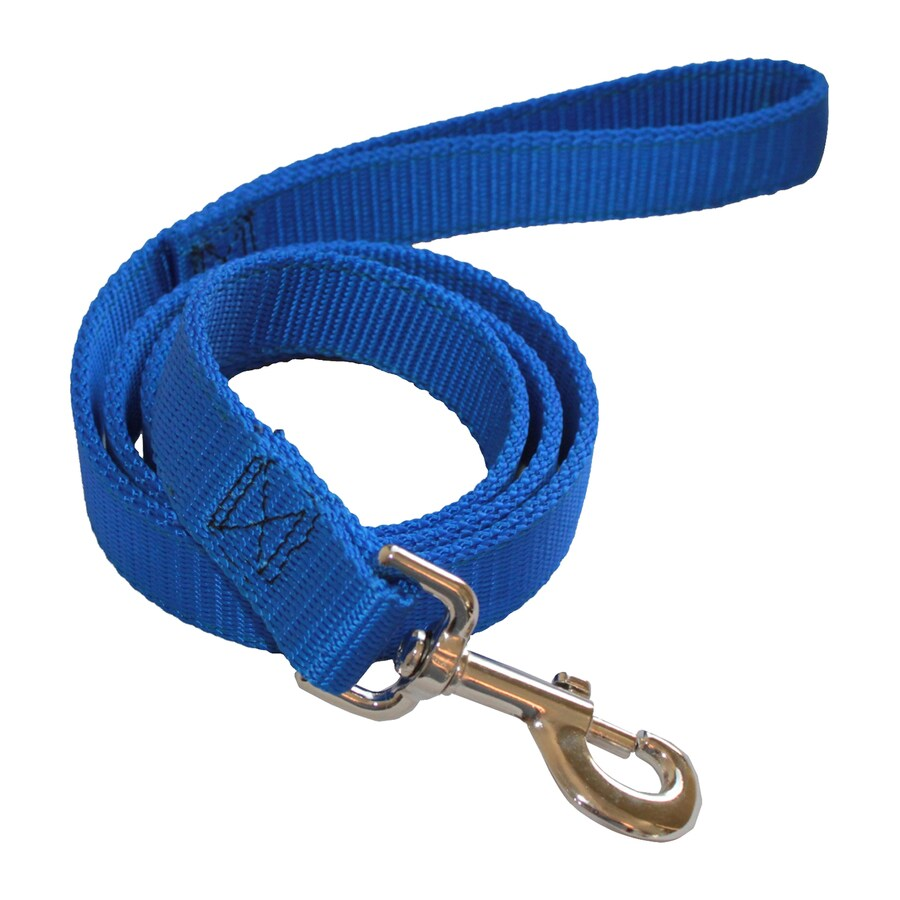 Shop Majestic Pets Blue Nylon Dog Leash At Lowes Com