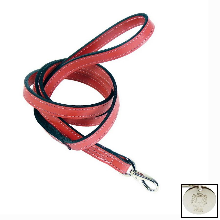 Hartman & Rose Petal Pink Leather Dog Leash