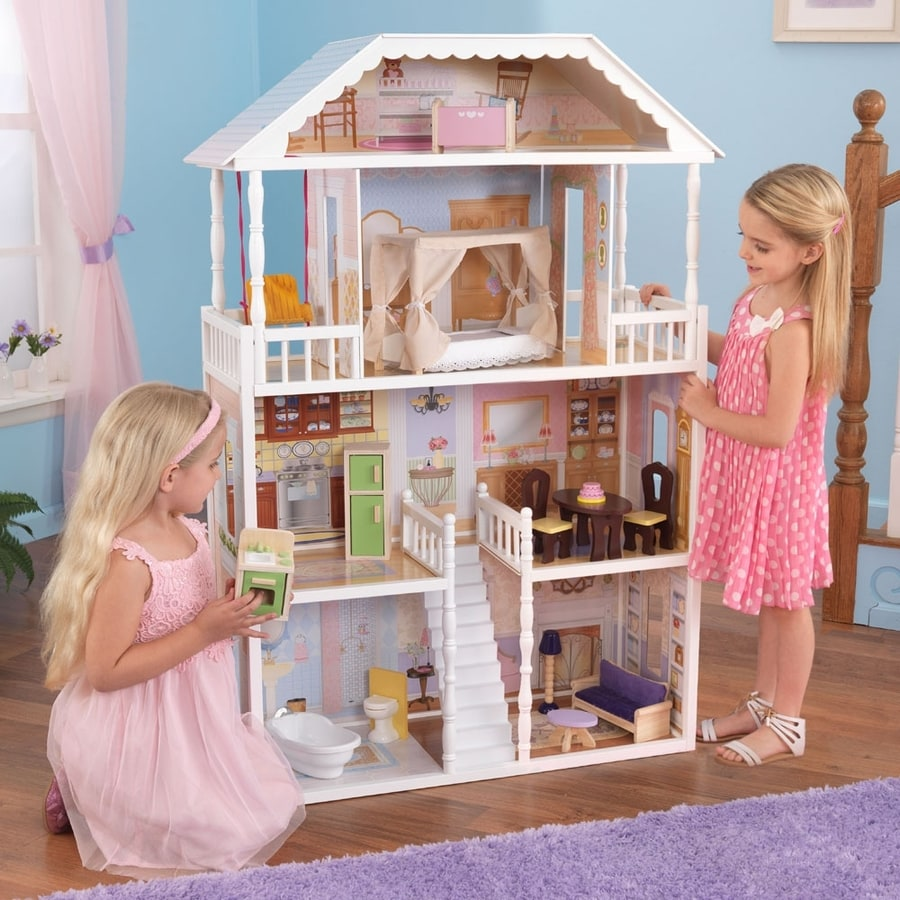 shop kidkraft dollhouse at lowes