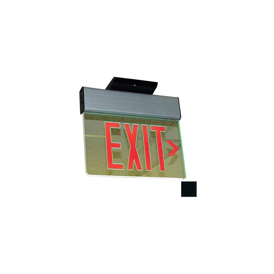 Nicor Lighting Red LED Hardwired Exit Light