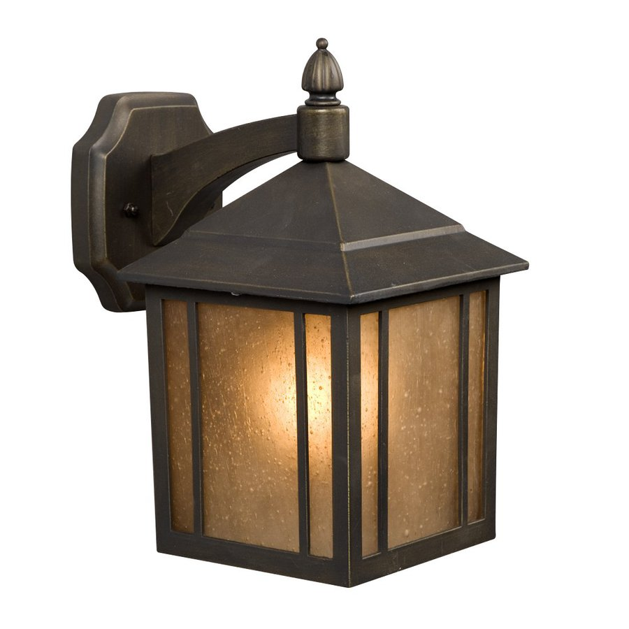 Galaxy 11.625-in H Oil-Rubbed Bronze Outdoor Wall Light