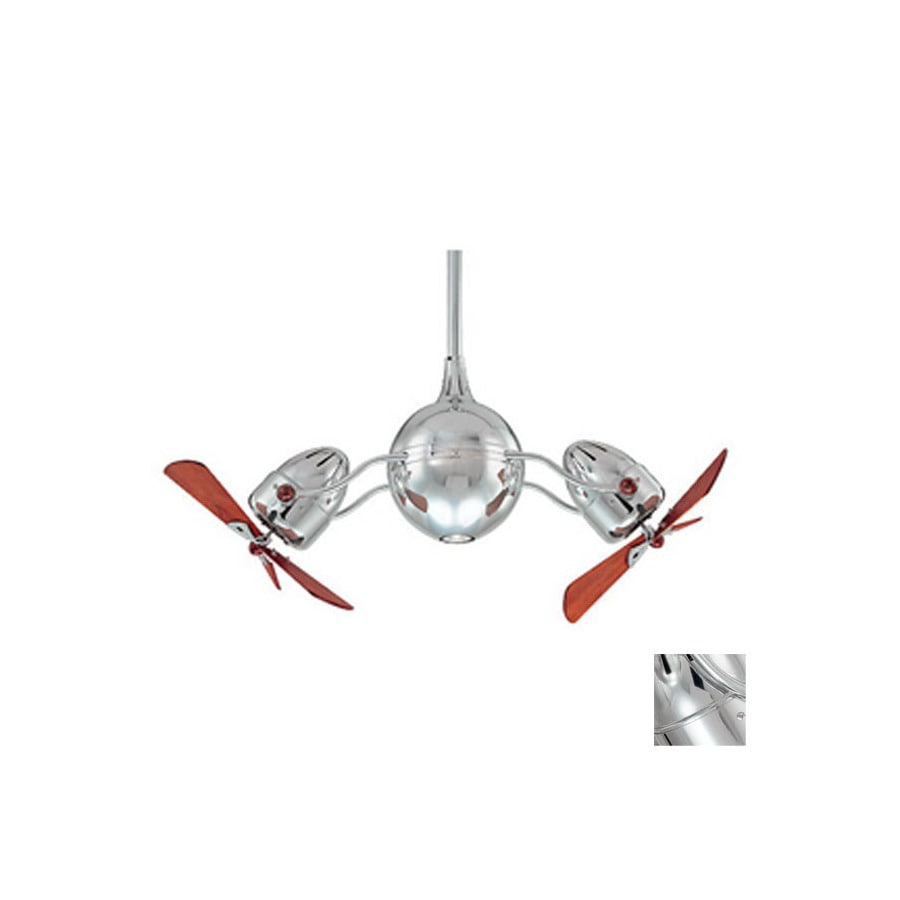 Matthews 5-in Chrome Ceiling Fan Downrod
