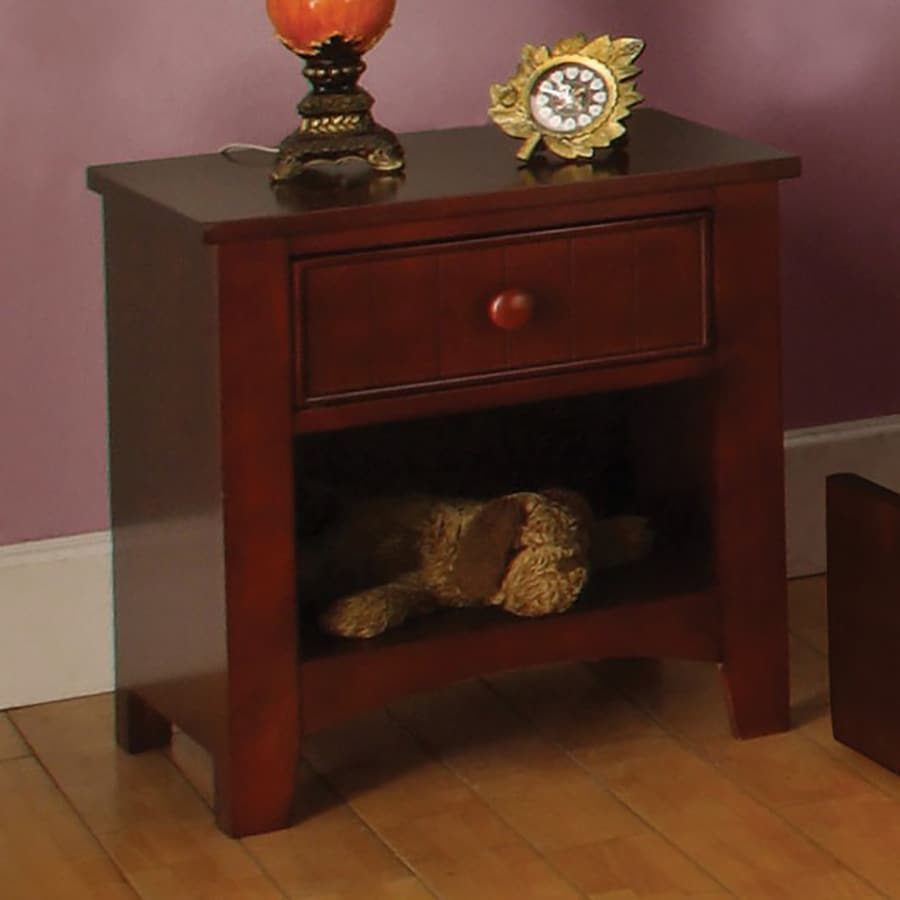 Furniture of America Omnus Oak Composite Nightstand