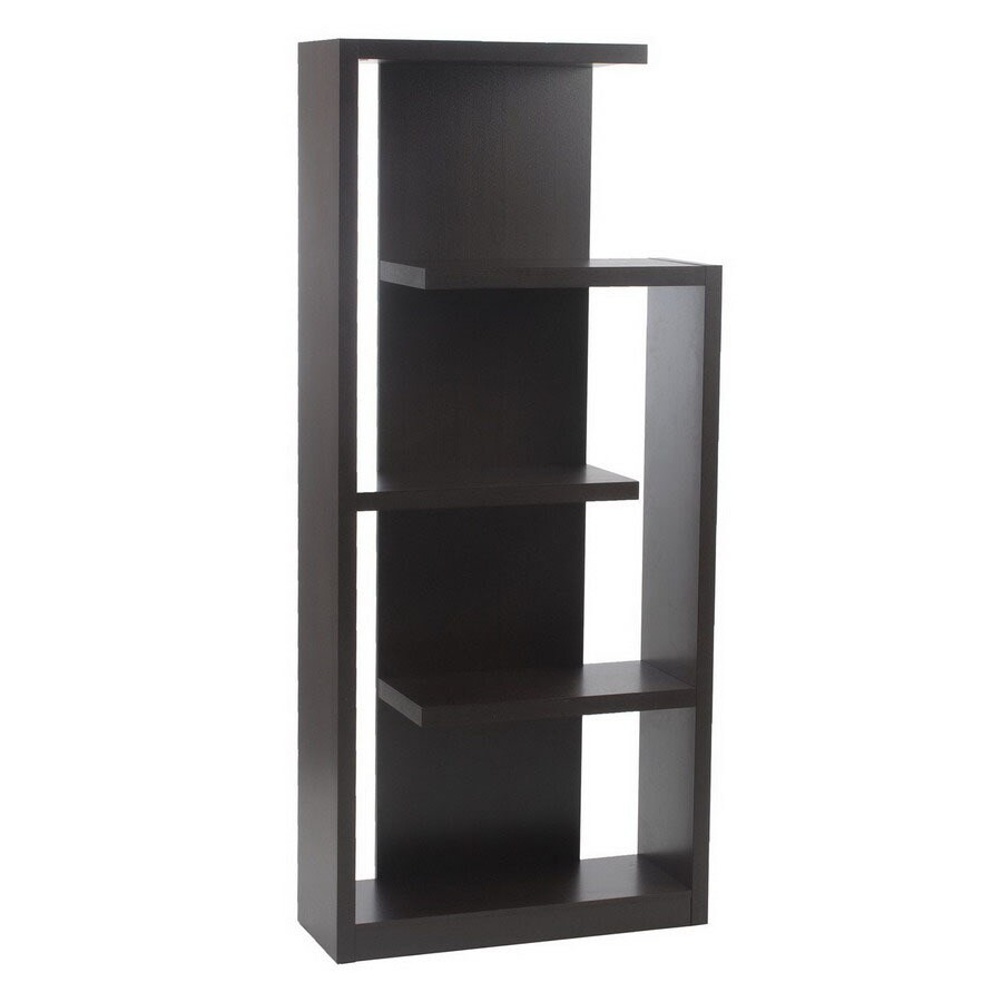 Eurostyle Robbie Wenge 70-7/8-in 5-Shelf Bookcase