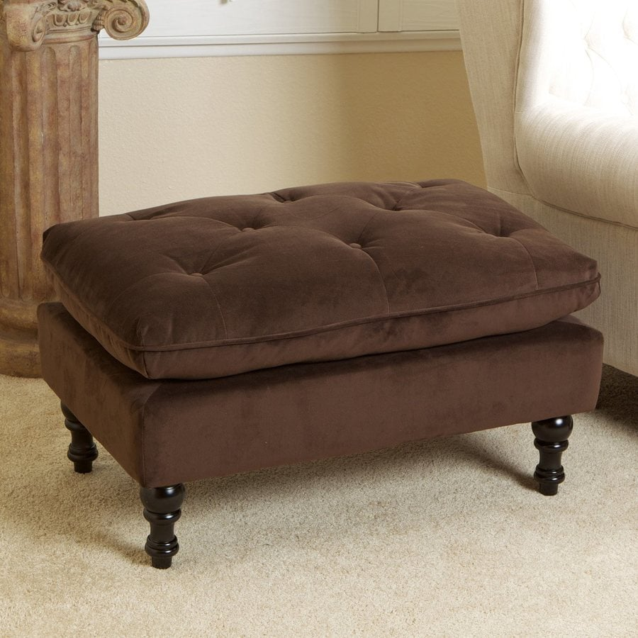 Best Selling Home Decor Jeremy Brown Rectangle Ottoman