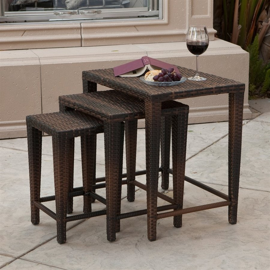 Best Selling Home Decor Multi-Brown Accent Table Set