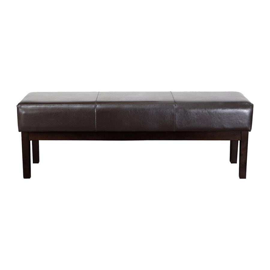 Best Selling Home Decor Melosed Brown Rectangle Ottoman
