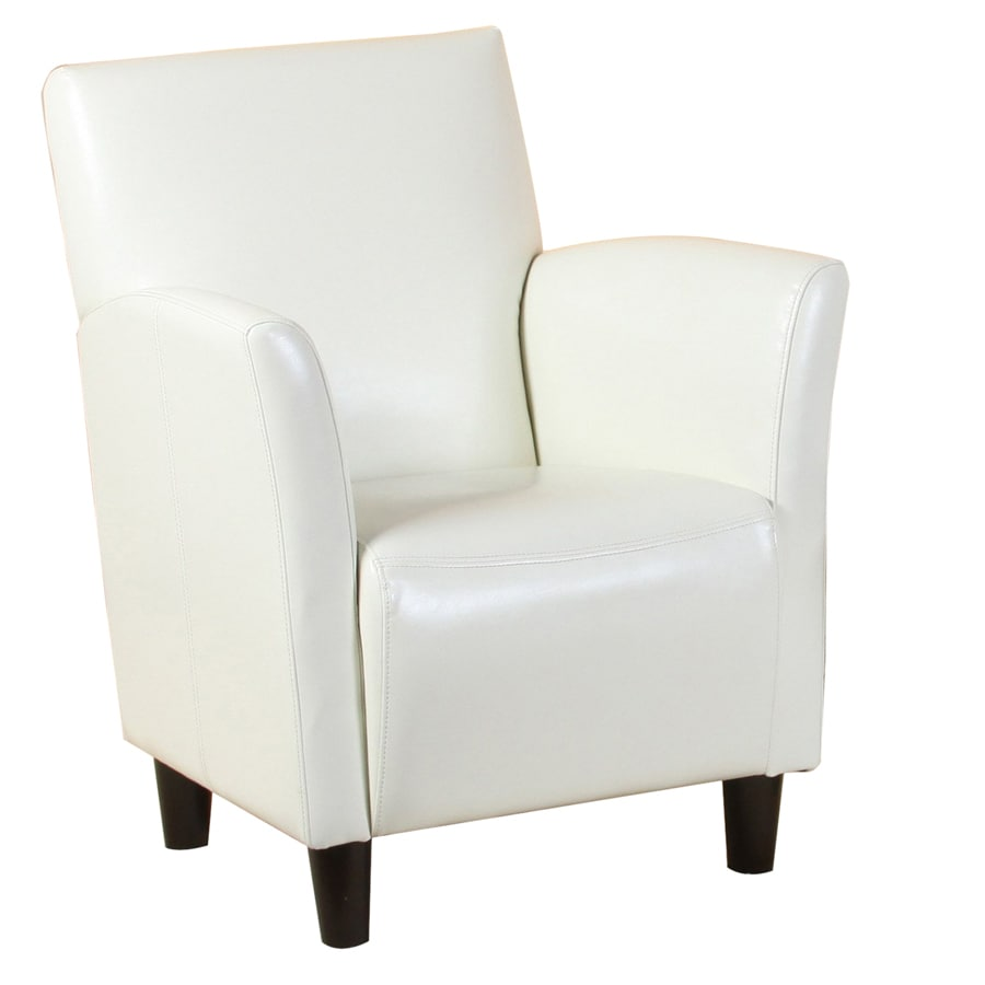 Best Selling Home Decor Francisco White Club Chair